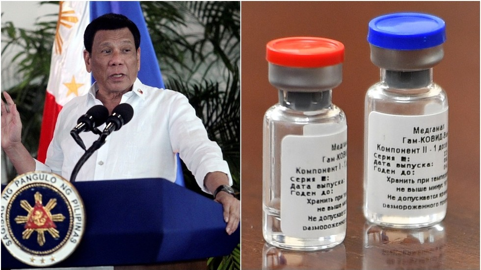 Philippine President Duterte might be infused with Russia's coronavirus antibody by next May
