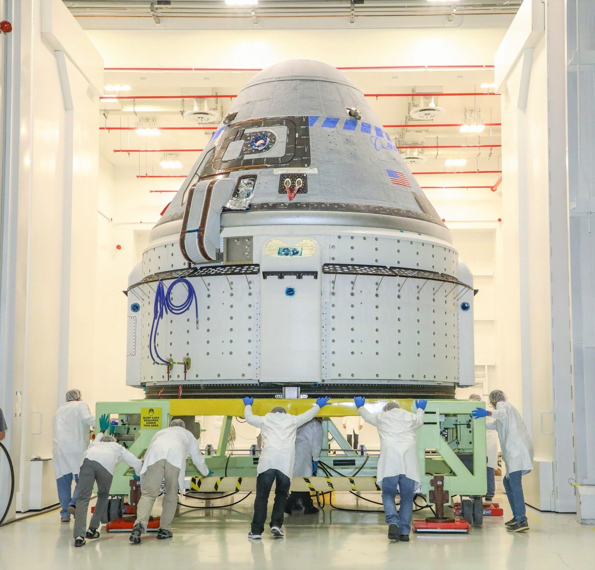 In December Boeing's Starliner could dispatch to the space station