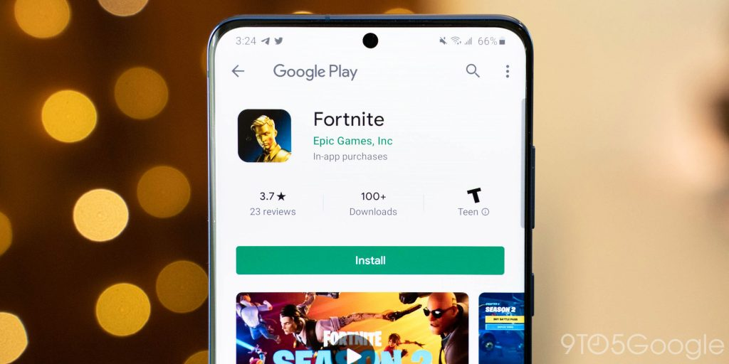 Epic is suing Google over Fortnite's removal from the Google Play Store