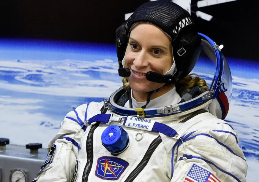 NASA space explorer intends to project her voting form from space station