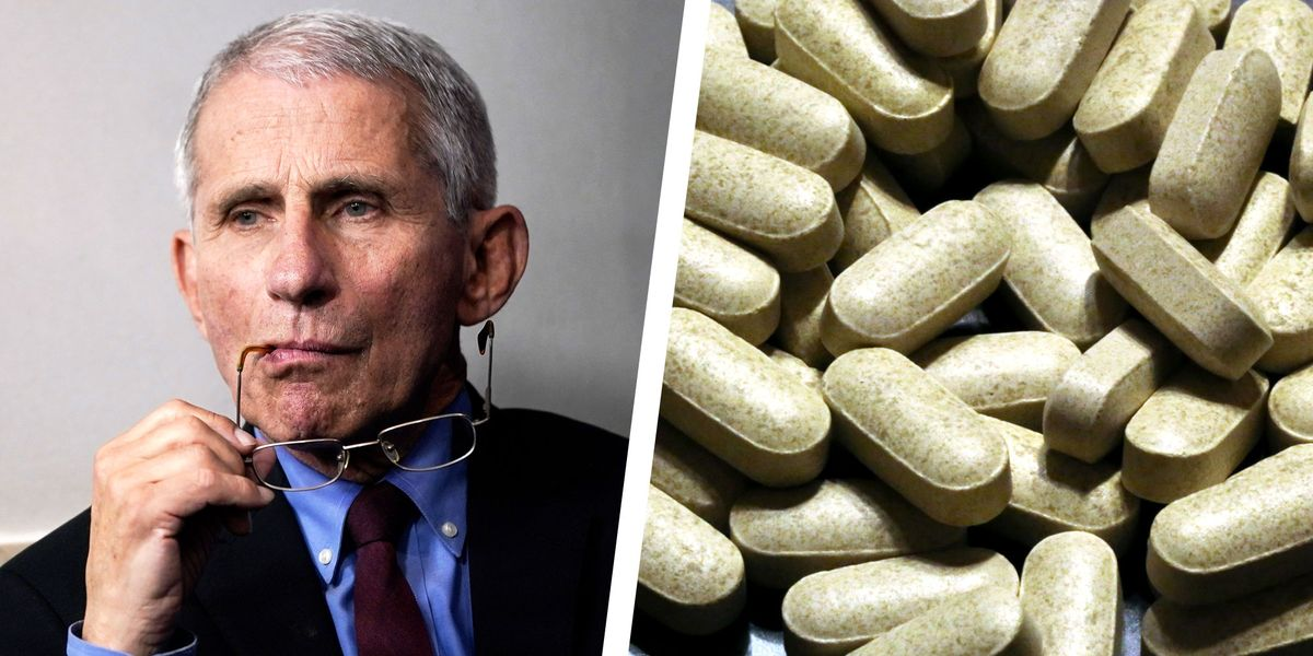 Dr. Fauci takes the supplement to assist keep healthy his immune system