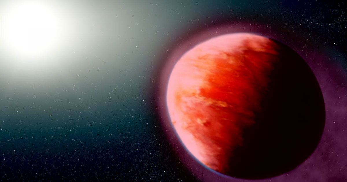 Scientists Discovers , Researchers reveal new insights regarding a bizarre hellish exoplanet